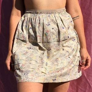 Marc Jacobs SZ S Or 2 Sewn Design Skirt ❣️